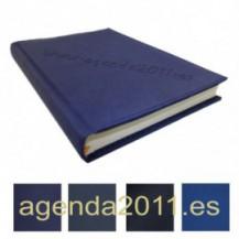Fabricación Agenda personalizada poliel colores Azules